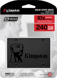 KINGSTON 240GB SSDNow A400 SSD (SA400S37/240G) HARDDİSK