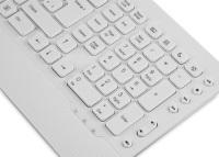 EVEREST KM-3850 Q USB KABLOLU  BEYAZ SET