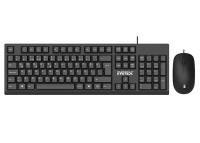 Everest KM-615 Siyah Usb Combo Q Standart Klavye + Mouse Set