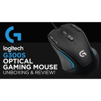 LOGITECH G300S Gaming Mouse + Gaming Mousepad Set