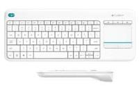 LOGITECH K400 Wireless Touch Beyaz Klavye (920-007150) smart tv ler için