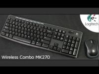 LOGITECH MK270 WIRELESS DESKTOP TÜRKÇE Q USB KABLOSUZ