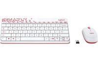 LOGITECHh MK240 Kablosuz Q Türkçe Combo Beyaz Klavye Fare Set (920-008214)