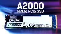 M.2 KINGSTON A2000 250GB  m.2 2000/1100MB NVMe SSD Harddisk