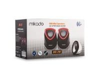 MIKADO MD-158 2.0 SİYAH/KIRMIZI USB SPEAKER