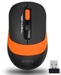 A4 Tech FG10 2000DPI USB Optik Kablosuz Turuncu Mouse