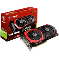 MSI 6GB GTX1060 Gaming 6GB DDR5 192bit HDMI DVI 3x DisplayPort 16X (PCIe 3.0)