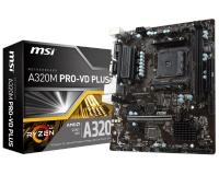 MSI A320M-PRO-VD/S DDR4 S+V+GL AM4 (mATX)
