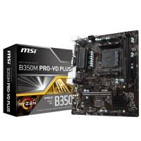 MSI AMD B350M PRO-VD PLUS B350 DDR4 3200 VGA GLAN AM4 USB3.1
