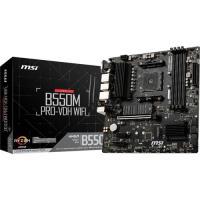 MSI B550M PRO-VDH WIFI AM4 DDR4 4400(OC) HDMI