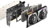 MSI GeForce GTX 1660 Ti Gaming 6G 6GB GDDR6 192Bit DX12 Gaming Ekran Kartı