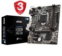 MSI H310M PRO-VDH PLUS DDR4 2666 GLAN 1151p-8.9.Nesil Anakart 1151p8