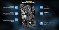 MSI H410M PRO-E DDR4 SATA3 HDMI DVI PCIe 16X v3.0 1200p mATX