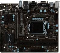 MSI INTEL B250M PRO-VH B250 DDR4 2400 VGA GLAN 1151P M.2 SATA