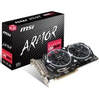 MSI RX580 ARMOR 8G OC DDR5 256bit HDMI DVI  ATI