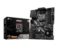 MSI X570-A PRO AM4 DDR4 4400 mhz (Oc) 2 x M.2