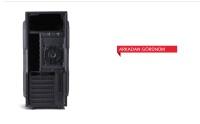 NAGAS C138 350W USB3.0 1x8CM RED FAN KART OKUYUCU SIYAH ATX KASA NAGAS OYUNCU KASASI