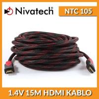 NIVATECH 15MT NTC-105 HDMI V1.4  HDMI KABLO   15 METRE  HDMI KABLO