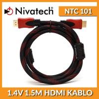 NIVATECH NTC-101 1.4V 1.5 Metre Hdmi Kablo