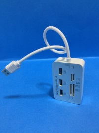 NIVATECH NTC-1619 3 PORT USB 3.0 ÇOKLAYICI CARD OKUYUCU