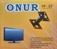 """ONUR 25-56CM LCD TV ASKI (10-22"""") (LCD-004 monitör televizyon (tv)  askı aparatı"""