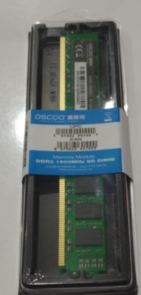OSCOO 8GB 1600MHZ DDR3 RAM PC RAM