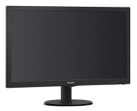 "PHILIPS 23,6"" 243V5LHAB5-01 LED MM 1ms Syh Wide,1920*1080,HDMI,VGA,DVI,Hoparlör,Vesa Monitör"
