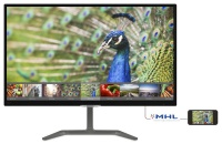 "PHILIPS 23,6"" 246E7QDAB IPS MM 5ms Siyah HDMI DVI VGA  IPS MONİTÖR VESA ASILABİLİYOR"
