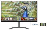 """PHILIPS 23,6"""" 246E7QDAB IPS MM 5ms Siyah HDMI DVI VGA  IPS MONİTÖR VESA ASILABİLİYOR"""