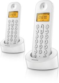 PHILIPS D1401W BEYAZ DECT TELSİZ TELEFON