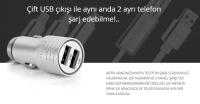 POWERWAY X1033 2.4A MICRO ARAÇ ŞARJ CİHAZ