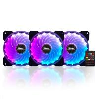 Boost RAINBOWKIT12 3xRGB Fan, 1xFan Control, 1xRemote (Combo kit)