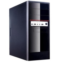 Power Boost VK-1624 350W ATX Kasa Shiny Piano Siyah