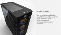 POWER BOOST X-59 650W 80+ RGB USB3.0 KASA
