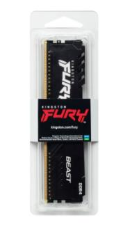 KINGSTON Hyperx Furry Black 8GB 2666Mh DDR4 KF426C16BB/8