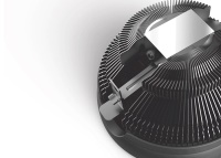 Rampage FROSTY-B 3Pin 120mm AM4 Ready 1600Rpm Mavi Led Soğutucu Fan