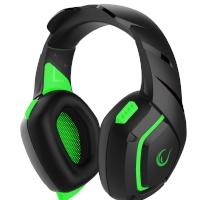 Rampage RM-K7 MAGNIFIC Siyah/Yeşil 7.1 Surround Sound System USB Mikrofonlu Oyuncu Kulaklığı
