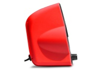 RAMPAGE RMS-G7 FALSETTO 2.0 6 Watt RGB Ledli Kırmızı Multimedia Gaming USB Speaker