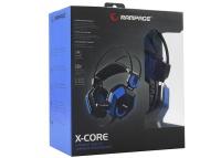 Rampage SN-R5 X-CORE Siyah/Mavi Oyuncu Mikrofonlu   KULAKLIK