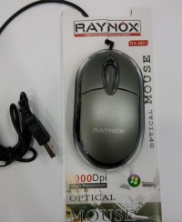 RAYNOX RX-M01 Usb Notebook Mouse 1000 Dpi