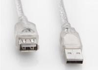 S-link SL-AF2015 Usb2.0 1.5mt Şeffaf Uzatma Kablo