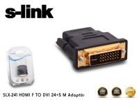 S-LİNK SLX-241 HDMI F TO DVI 24+5 M AdaptöR
