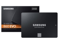 SAMSUNG 250GB 860 EVO 550MB/520MB MZ-76E250BW SSD Harddisk