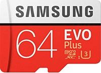 SAMSUNG 64GB MICROSD EVO PLUS 100/60MB-MC64GA