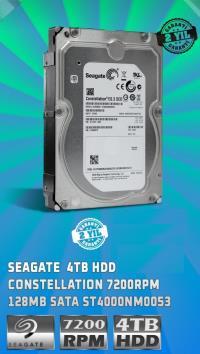 SEAGATE  4TB 7200RPM 64MB SATA 3.5 ST4000NM0053 YENILENMIŞ