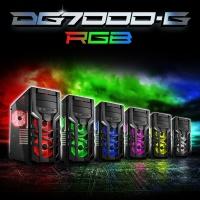 SHARKOON DG7000-G-RGB 3x FAN USB 3.0 Pencereli KASA POWER YOK