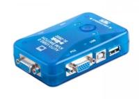S-LINK SL-2602 USB DEN 2 PORT KWM SWITCH 2,PC VEYA KAYIT CİHAZI TEK EKRAN