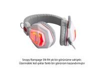 SNOPY RAMPAGE SN-R4 Oyuncu Siyah Mikrofonlu Kulaklık