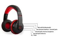 Snopy Rampage SN-RBT7 Oyuncu Kırmızı Bluetooth Kulaklık  KABLOSUZ KULAKLIK