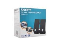 Snopy SN-611 2.0 AC 220V Speaker mikrofon girişli